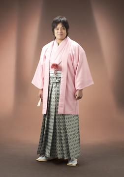 ピンクの羽織がスッゴク似合ってるでしょ☆