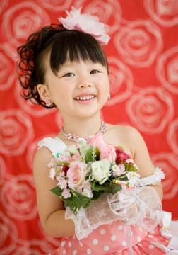 この笑顔、カワイイですよね〜。癒されちゃいます♡♡♡