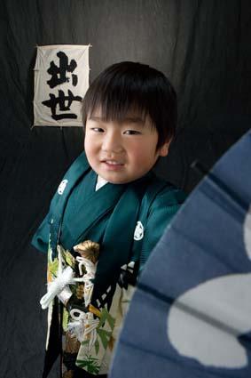 パパも着た袴です。とっても似合ってましたね〜