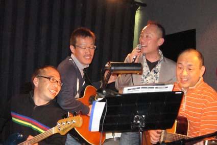 即興のホークソンググループ?でも楽しかったです。