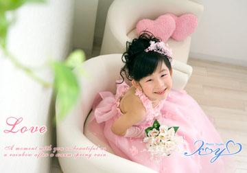 ピンクのドレスがチョー可愛かったで〜す(^o^)