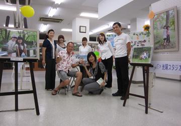 角田市から「さとう写真館」の社長はじめスタッフの皆さんがお越し下さいました。栄養剤ありがとうございました。