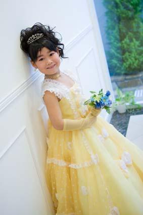 黄色のドレスがとってもお似合いでした。かわいい〜♡
