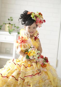 ドレスもかわいいでしょ♡