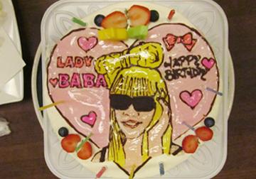 LADY BABAケーキ♡