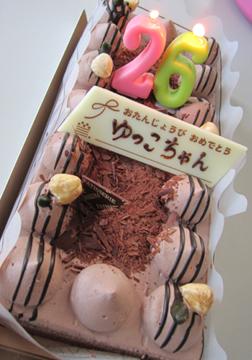 チョコレートケーキ☆美味しかったです(*^_^*)