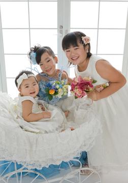 3姉妹でバッチリ☆