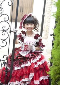 AKB風ドレスです!