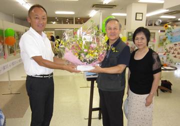 写真館の勉強グループ「東北PPS」の幕田会長ご夫妻が丸森町よりお越しいただきました。