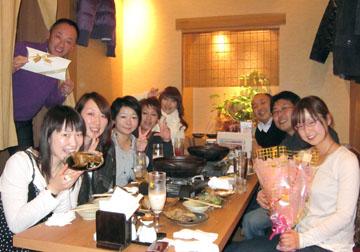スタッフ全員が揃いました。武ちゃんも聖ちゃんもありがとう!