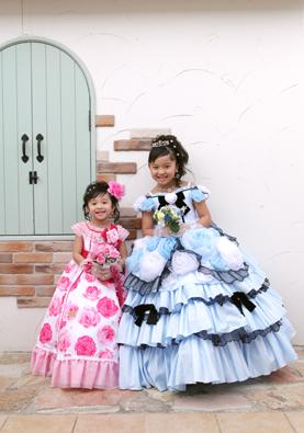 二人ともseiko matsudaブランドのドレスです☆